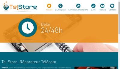 Site internet de Tel Store