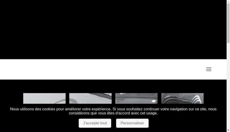 Capture d'écran du site de Tempo Transport Express