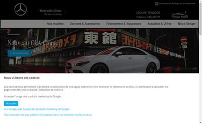 Site internet de Tenedor Reims