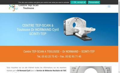 Site internet de Scinti-Tep
