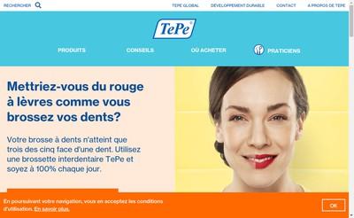 Site internet de Tepe France
