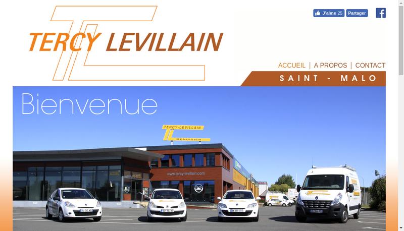 Capture d'écran du site de Tercy Levillain