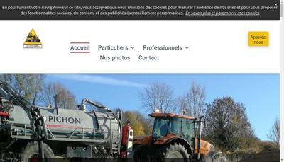 Site internet de Ternois Travaux Locations