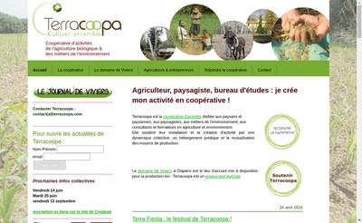 Site internet de Terracoopa