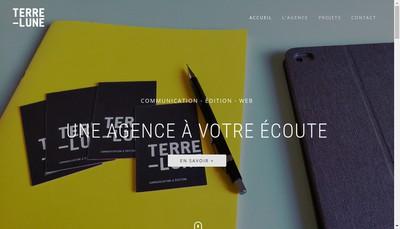 Site internet de Terre-Lune SCOP
