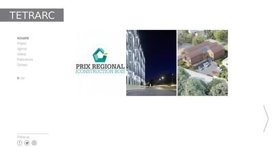Site internet de Tetrarc