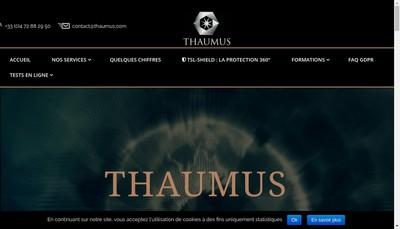 Site internet de Thaumus