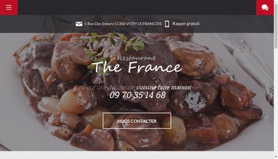 Site internet de The France By Martin And Co