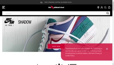 Site internet de The Athlete'S Foot