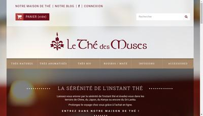 Site internet de Le The des Muses