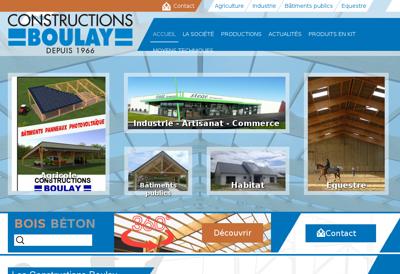 Capture d'écran du site de The Duke