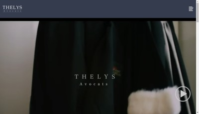 Site internet de SCP Thelys Avocats