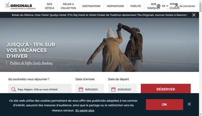 Site internet de Hotel Arcole
