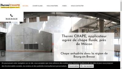 Site internet de Thermi Chape