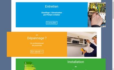 Site internet de Thermo Conseils