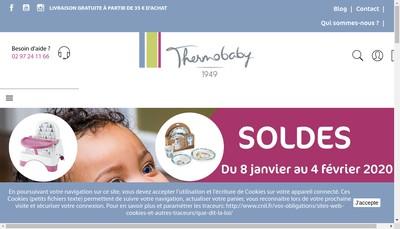 Site internet de Societe Thermobaby