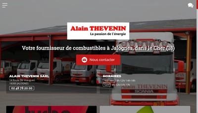 Site internet de Alain Thevenin SARL