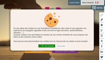 Site internet de Thierry Immobilier