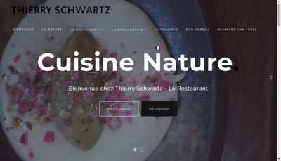 Site internet de Thierry Schwartz le Restaurant