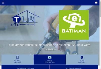 Site internet de Tlb Menuiseries