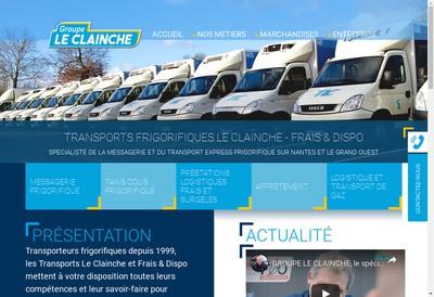 Site internet de Transports le Clainche