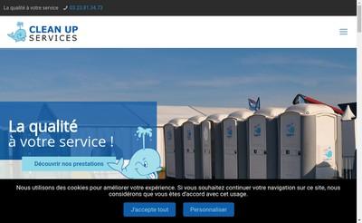 Site internet de SARL Clean Up Services