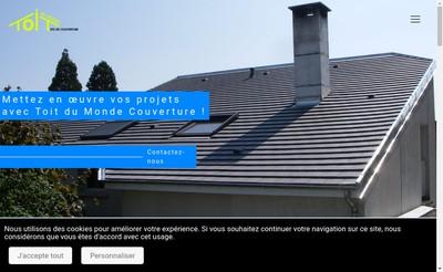 Site internet de Toit du Monde Couverture