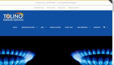 Site internet de Energies Services