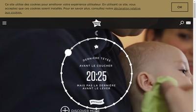 Site internet de Mayborn France