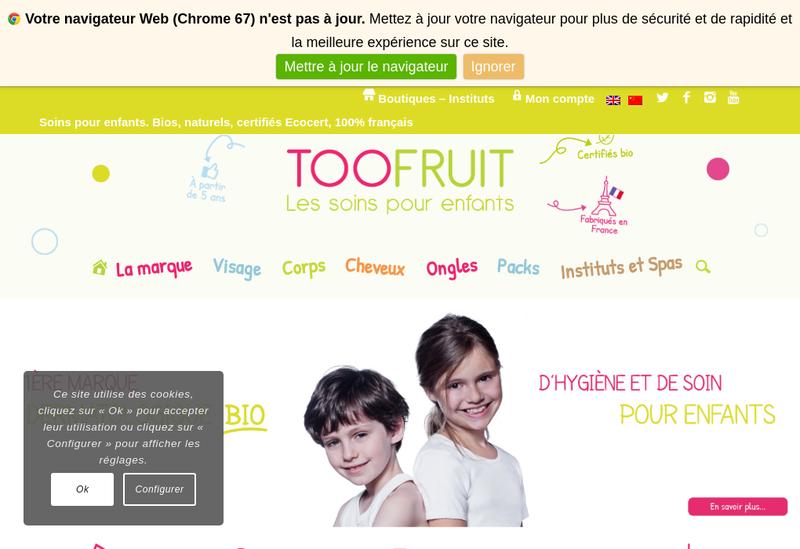 Capture d'écran du site de Allistere