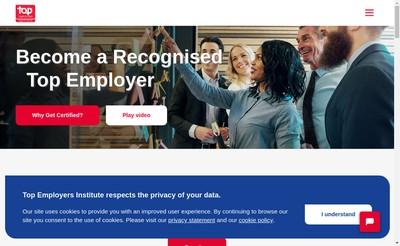 Site internet de Top Employers France