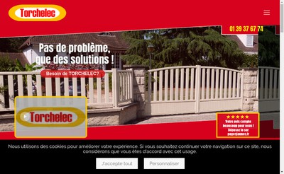 Site internet de EURL Torchelec Automatismes