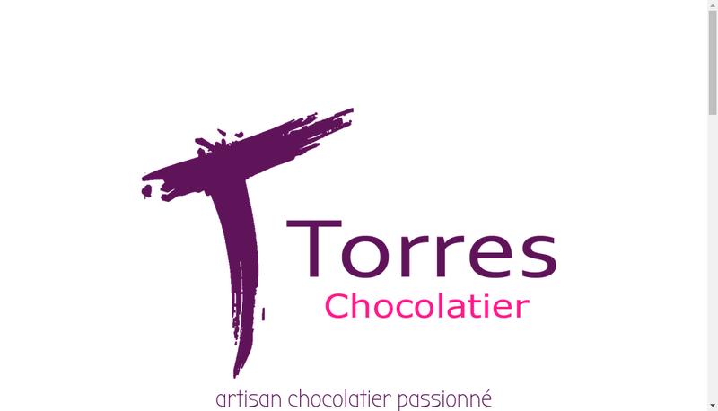Capture d'écran du site de Torres Chocolatier