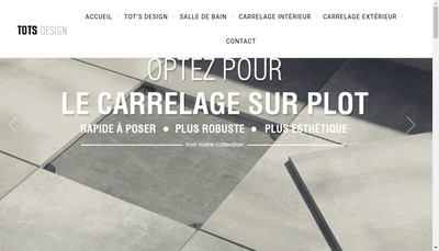 Site internet de Tots Design