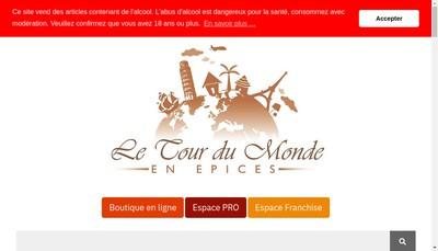 Site internet de Le Tour du Monde en Epices