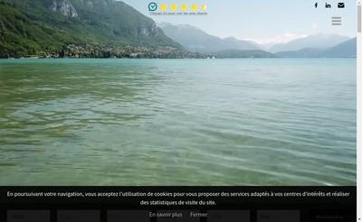Site internet de Tour des Lacs - Immobilier