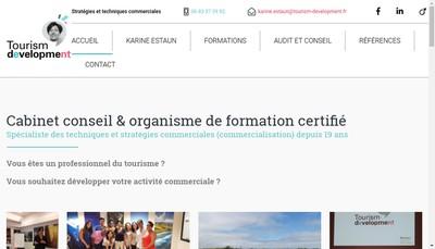 Site internet de Tourism'Development