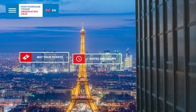 Site internet de Beluedere Montparnasse