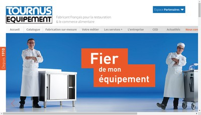 Site internet de Tournus Equipement