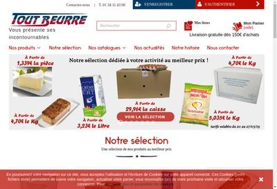 Site internet de Tout Beurre
