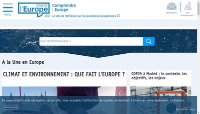 Site internet de Touteleurope Fr