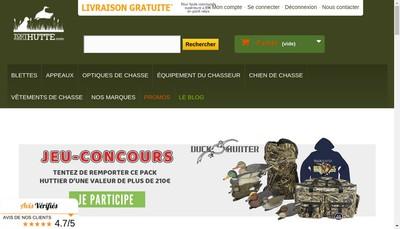 Site internet de Toutpourlahutte Com
