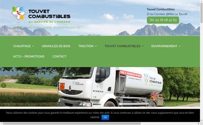 Site internet de Touvet Combustibles