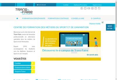 Site internet de Trans-Faire