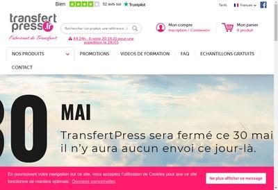 Site internet de Transfertpress