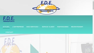 Site internet de France Distribution Express