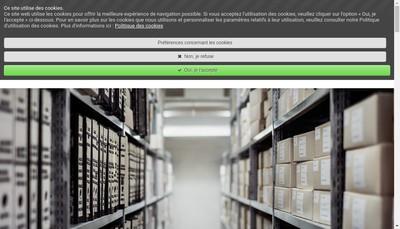 Site internet de Jv Services 64
