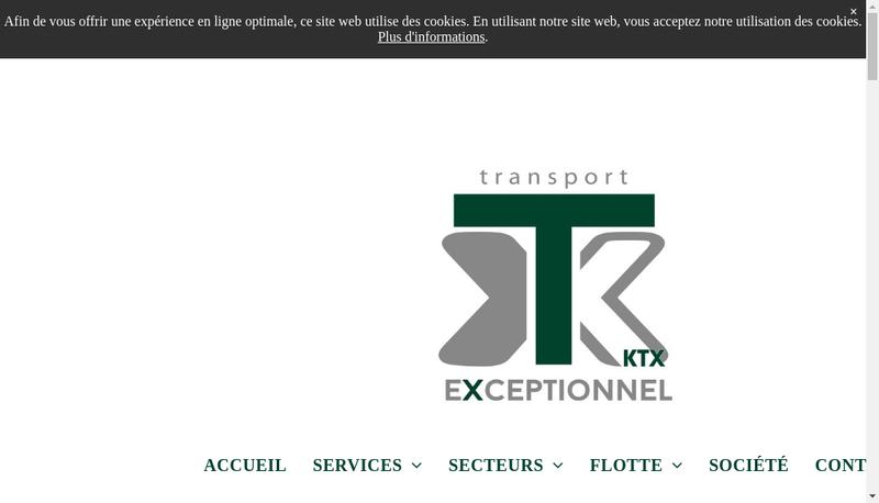 Capture d'écran du site de Westdijk France