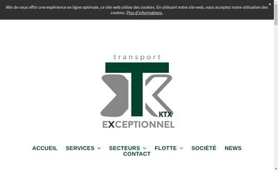 Site internet de Transport KTX