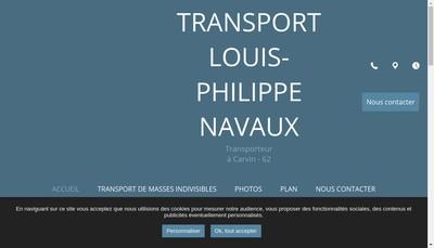 Site internet de Louis Philippe Navaux SARL